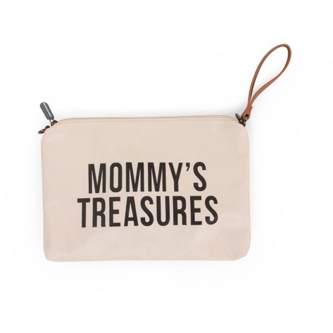 Mommy Clutch Alt Weiss