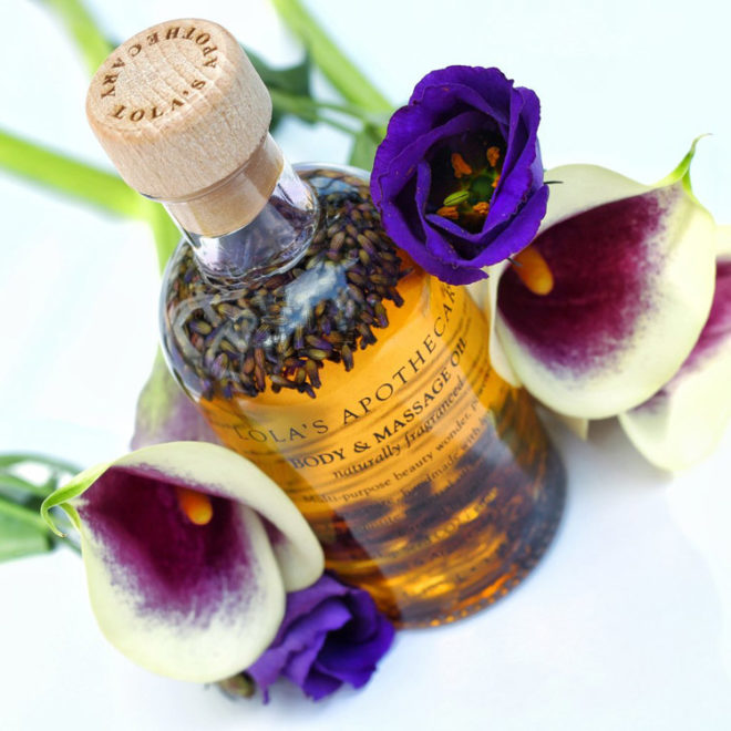Lola's Apothecary Relaxing Body Massage Oil